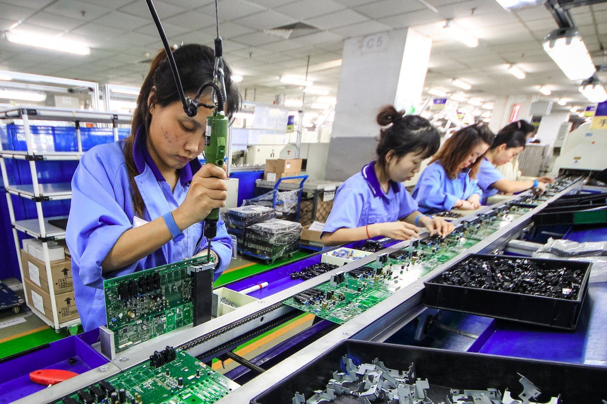 PCB assembly for industrial